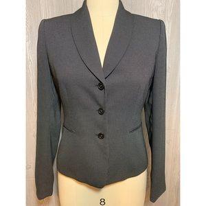 Tahari Black Dot Jacket Size 4
